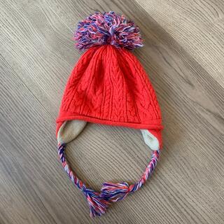 ロデオクラウンズワイドボウル(RODEO CROWNS WIDE BOWL)のロデオクラウンズ耳付きニット帽(帽子)