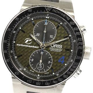 オリス(ORIS)のオリス BMWウィリアムズ クロノグラフ シューマッハ メンズ 【中古】(腕時計(アナログ))