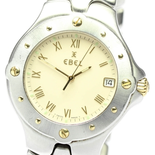 エベル(EBEL)のエベル スポーツウェーブ デイト E6187631 メンズ 【中古】(腕時計(アナログ))