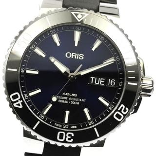 オリス(ORIS)の☆良品 オリス アクイス 752.7733 メンズ 【中古】(腕時計(アナログ))