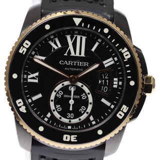 カルティエ(Cartier)のカルティエ カリブル ドゥ カルティエ ダイバー メンズ 【中古】(腕時計(アナログ))