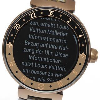 ルイヴィトン(LOUIS VUITTON)の☆美品 ルイ・ヴィトン タンブール ホライゾン V2 メンズ 【中古】(腕時計(デジタル))
