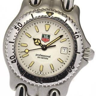 タグホイヤー(TAG Heuer)のタグホイヤー セル デイト WG1312-R0 レディース 【中古】(腕時計)