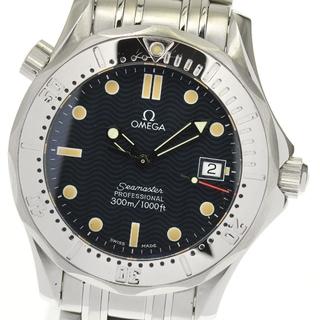 オメガ(OMEGA)のオメガ シーマスター300 デイト 2562.80 ボーイズ 【中古】(腕時計(アナログ))