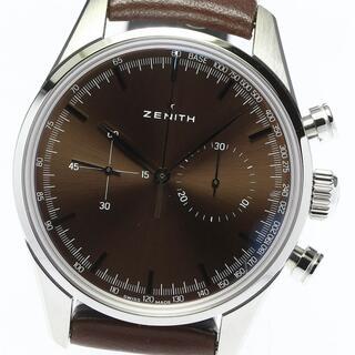 ゼニス(ZENITH)の☆未使用品 ゼニス メンズ 【中古】(腕時計(アナログ))