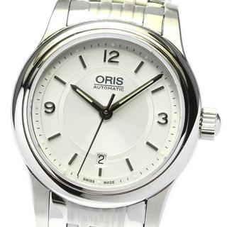 オリス(ORIS)の☆美品 オリス クラシックデイト 7650-40 レディース 【中古】(腕時計)