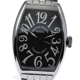 フランクミュラー(FRANCK MULLER)の☆良品 フランクミュラー トノーカーベックス カサブランカ メンズ 【中古】(腕時計(アナログ))