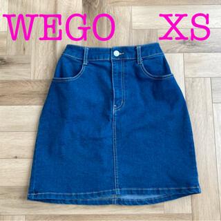 ウィゴー(WEGO)のWEGO デニムスカート XS(ミニスカート)