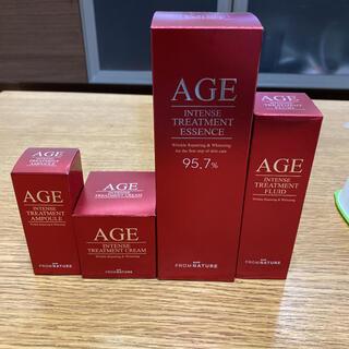 フロムネイチャー AGE 化粧水セット