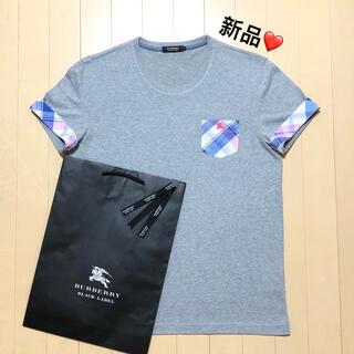 BURBERRY - 新品 バーバリーブラックレーベル Tシャツ3