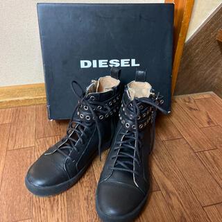 ディーゼル(DIESEL)の2回使用DIESELブーツ(ブーツ)
