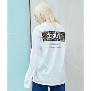 エックスガール(X-girl)の新品 X-girl LEOPARD BOX L/S TEE(Tシャツ(長袖/七分))