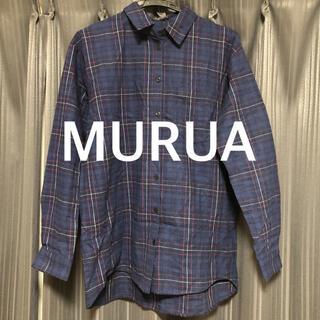 MURUA - MURUA チェックシャツ