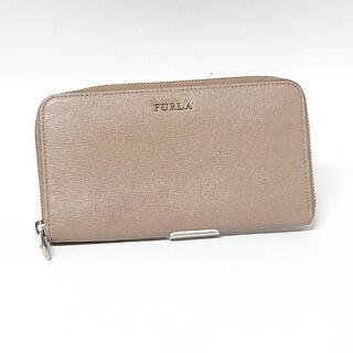 Furla - 【フルラ/FURLA】ラウンドファスナー長財布 レザー ベージュ