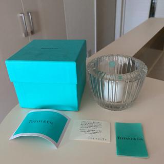 Tiffany & Co. - tiffany ティファニー クリスタル キャンドルホルダー