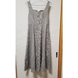 F i.n.t - フィント チェックジャンパースカート