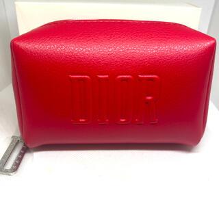 Christian Dior - ディオール ノベルティ ポーチ 新品未使用 ディオールレッド