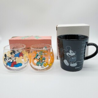Disney - Disney/未使用/ミッキードナルドペアグラス&ミッキーマグカップ/ディズニー