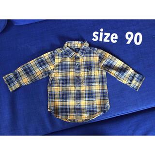 ベビーギャップ(babyGAP)のベビーギャップ チェックシャツ 長袖(ブラウス)