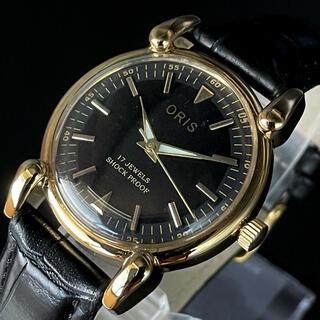 オリス(ORIS)の漆黒の一品【オリス/ORIS】腕時計/メンズ/手巻き/ビンテージ /ブラック(腕時計(アナログ))