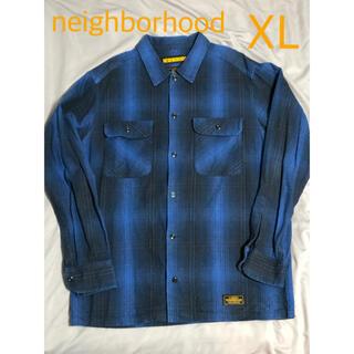 NEIGHBORHOOD - XL neighborhood  ネイバーフッド 18aw ネルシャツ
