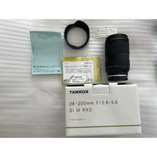 TAMRON - TAMRON 28-200mm F/2.8-5.6 Di III Eマウント