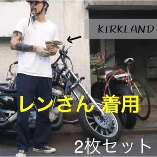 【レンさん着用】コストコ カークランド 白 Tシャツ Sサイズ 2枚セット