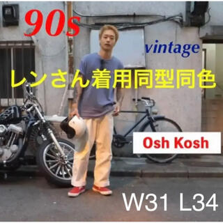 OshKosh - 【レンさん着用同型同色】Osh koshオシュコシュ ペインターパンツ W31