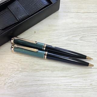 Pelikan - 未使用 ペリカン ボールペン シャープペンシル ペンケース K800 D800
