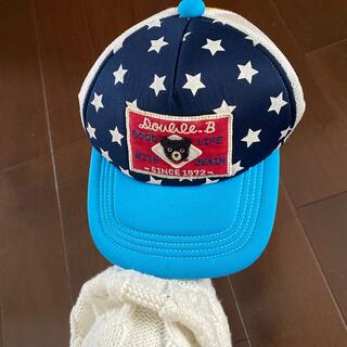 DOUBLE.B - ダブルビー 帽子 L