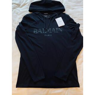 BALMAIN - 新品未使用 BALMAIN バルマン パーカー カットソー ロング Tシャツ