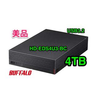 Buffalo - バッファロー★外付けハードディスク★4TB★HD-EDS4U3-BC