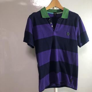 ポールスミス(Paul Smith)のpaul smith ポロシャツ S-M ボーダー 品番55(ポロシャツ)