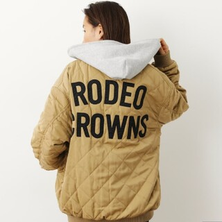 ロデオクラウンズワイドボウル(RODEO CROWNS WIDE BOWL)の新品ベージュ(ブルゾン)