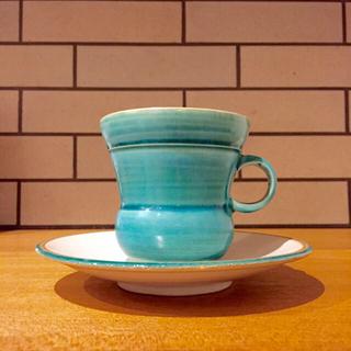 イデー(IDEE)の沖縄陶器✳︎大嶺實清さん✳︎コーヒーカップ(グラス/カップ)