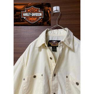 ハーレーダビッドソン(Harley Davidson)のハーレーダビッドソン シャツ【刺繍】(シャツ)