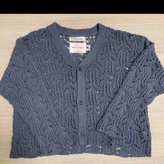 SUNSEA - DAIRIKUFlower Pattern Hand Knitti