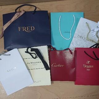 カルティエ(Cartier)のブランド紙袋まとめ売り(ショップ袋)