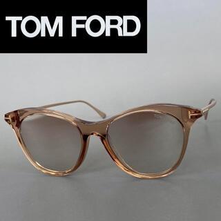 トムフォード(TOM FORD)のサングラス トムフォード ブラウン ゴールド ミラーレンズ フルリム スケルトン(サングラス/メガネ)