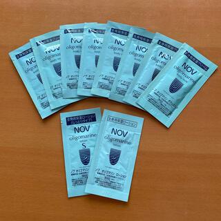 ノブ(NOV)のノブ NOV オリゴマリン ボディミルク&ローション 10袋(サンプル/トライアルキット)