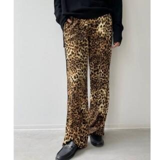 L'Appartement DEUXIEME CLASSE - L'Appartement/Leopard Side Line Pants/34