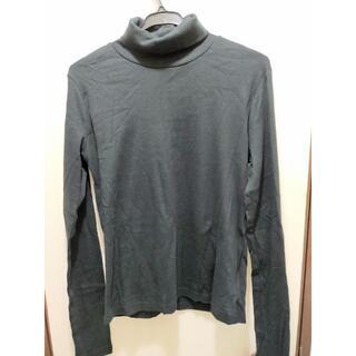 ウィゴー(WEGO)の【新品】WEGO タートルネックロンT ブラック フリーサイズ(Tシャツ(長袖/七分))