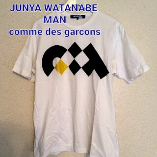 JUNYA WATANABE COMME des GARCONS - JUNYA WATANABE MAN 18AWプリントTシャツsizeM