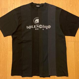 Balenciaga - バレンシアガ BALENCIAGA 青山 店舗 限定 再構築ロゴ Tシャツ S