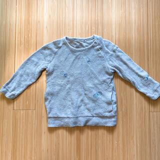 ミナペルホネン(mina perhonen)のmina perhonen ミナペルホネン chouchoパイルカットソー 90(Tシャツ/カットソー)