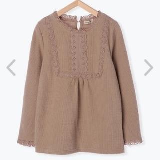 SM2 - ワッフル起毛レースTシャツ