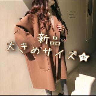 新品☆ガウン コーディガン シングルコート ブラウン★★★★★