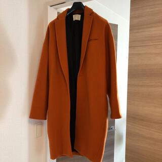 コムデギャルソン(COMME des GARCONS)のneon sign maxi coat コクーンコート オレンジ(チェスターコート)
