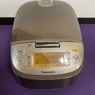 Panasonic - パナソニック5.5合炊き炊飯器
