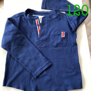 adidas - アディダス 長袖カットソー サイズ120